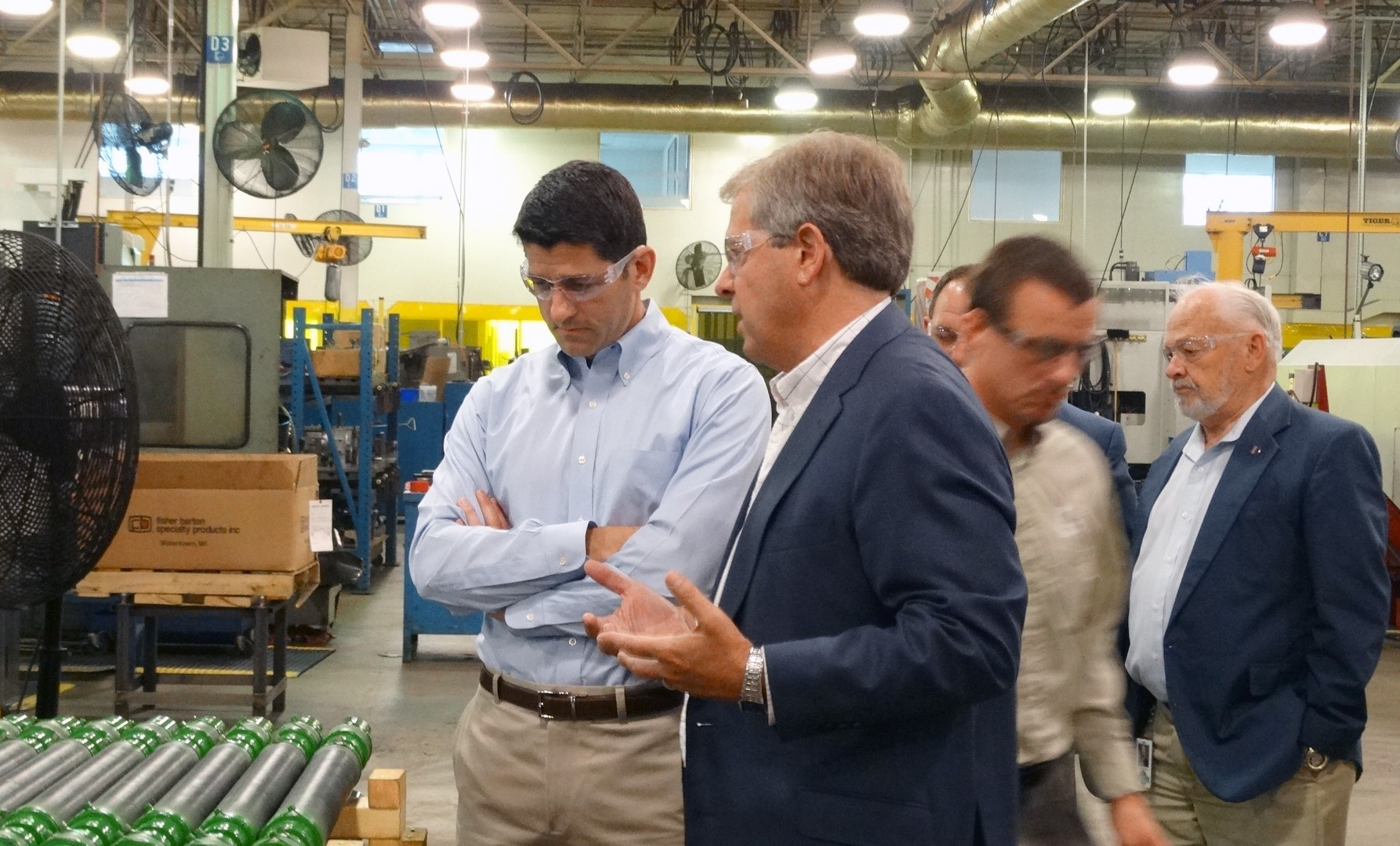 PAUL RYAN VISITS ALLIS ROLLER TO DISCUSS WORKFORCE DEVELOPMENT