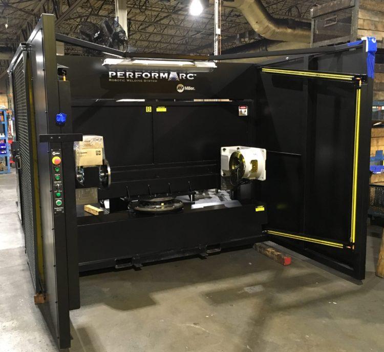 Miller Robotic Welder Keeps Allis Roller Innovating