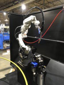 Miller Robotic Welder