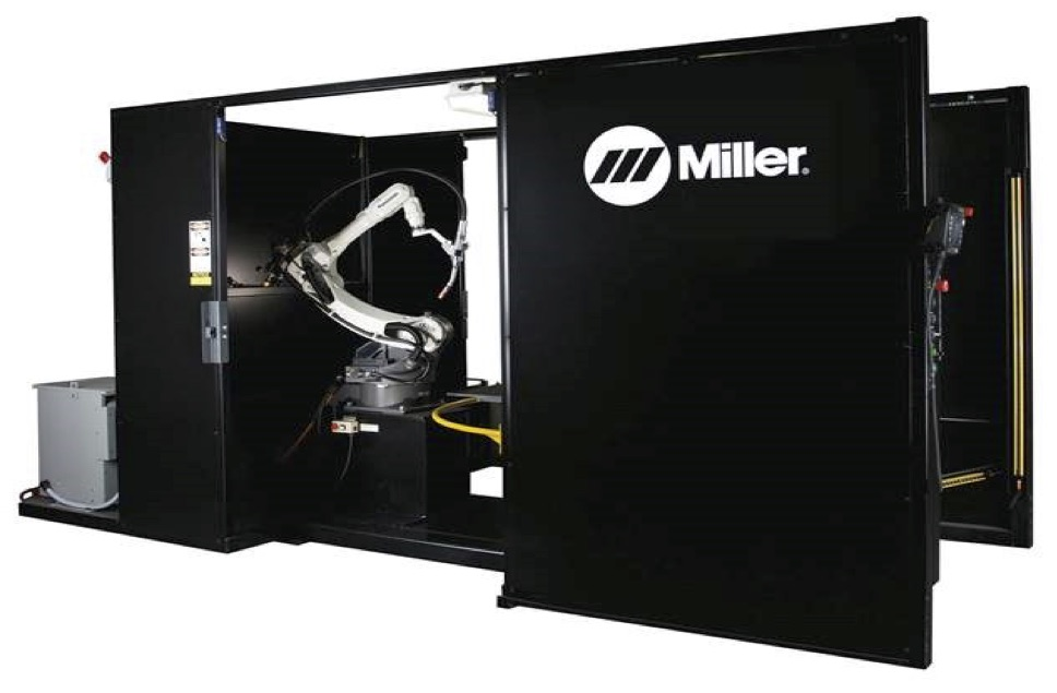 Miller Robotic Welder Keeps Allis Roller Innovating